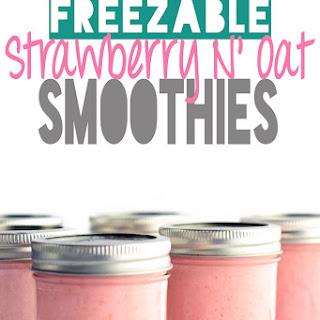 Strawberry N' Oat Breakfast Smoothie