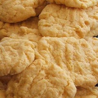 Custard Powder Biscuits.
