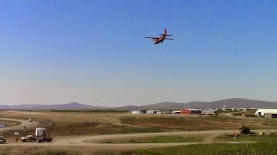 Photo: Lundi 17 juin 2013, Charles Hedrich atterrit à Nome, Alaska