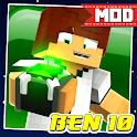 Mod Ben Alien 10 – Mod Ben Skin for MCPE 2021 icon