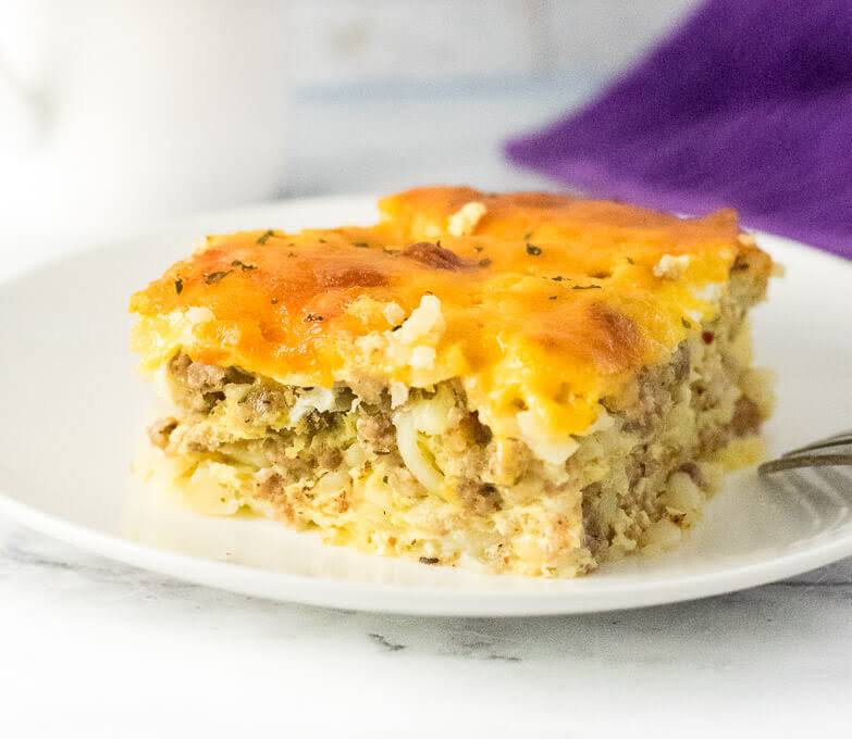 10 Best Egg Hash Brown Sausage Cheese Breakfast Casserole