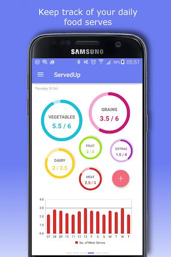 Food Diary - ServedUp screenshot 1