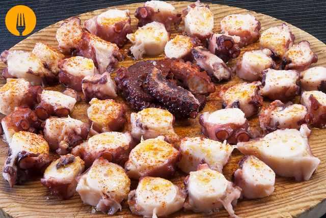 receta pulpo feira gallega