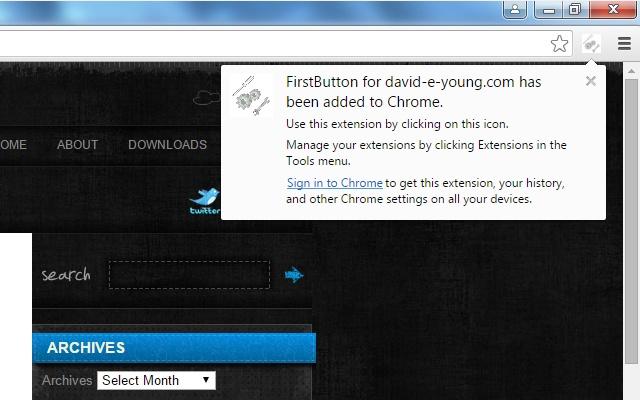 FirstButton for david-e-young.com