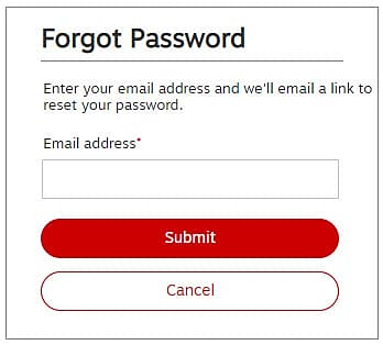 "To reset the password click here, enter your registered email address and tap on ""Continue"". You will get an email with the secure link to reset your password."
