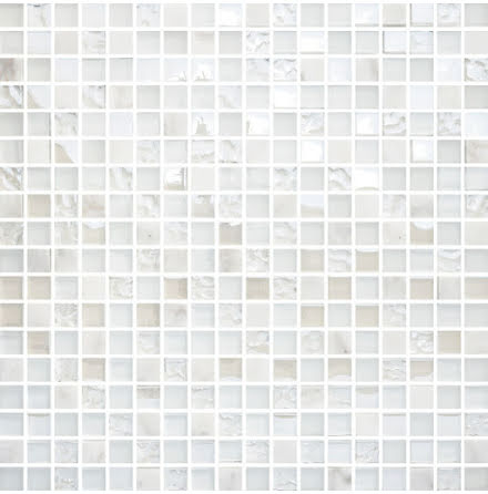 White Mix Carrara Glam