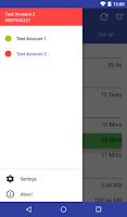 Screenshot of NZ Phone Account Widget