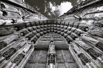 Photo: The Cologne cathedral bw ©http://markuslandsmann.zenfolio.com