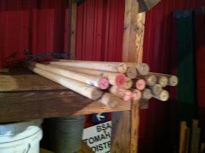 Photo: Short poles
