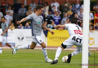 Que retenir du premier match d'Anderlecht?