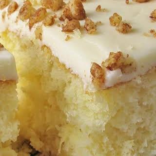 Precious Pineapple Cake.
