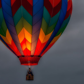 Balloon Aglow by Anne Marie Hickey - Transportation Other