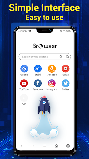 Browser for Android 1.9.1 Screenshots 2