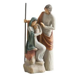 THE HOLY FAMILY 19 CM