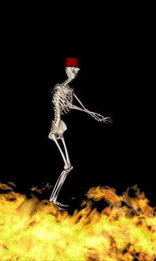 Dancing Skeleton Live Wallpaper  screenshots 4