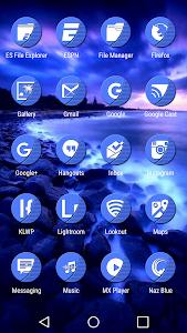 Naz Blue - Icon Pack v1.5