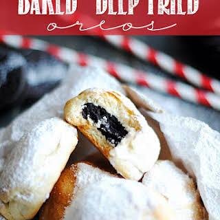 "Baked ""Deep Fried"" Oreos."