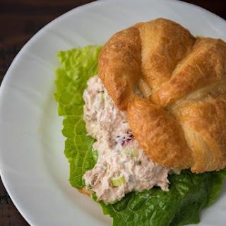 Tuna Salad Sandwich Croissant.