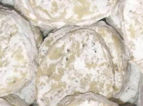 Polish Poppyseed Meltaway Cookies