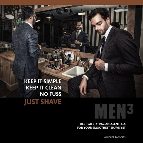 V.I.P Gentlemen's Fair Voucher - Just shave.