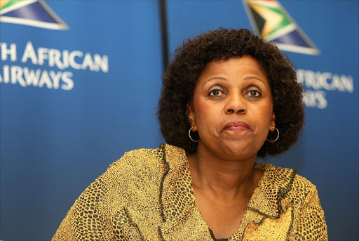 Dudu Myeni. File photo.