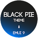 Black Pie Theme for EMUI 9 / 9.1 Huawei/Honor icon