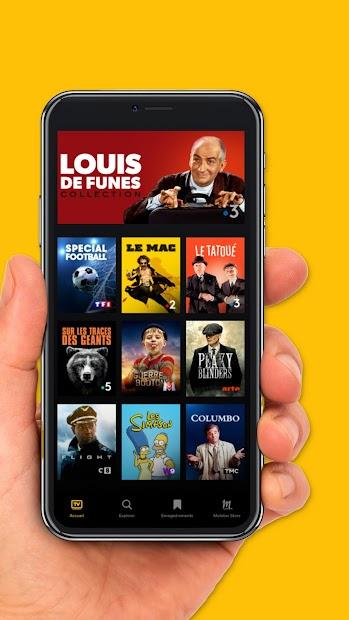 Molotov - TV en direct et en replay Android App Screenshot