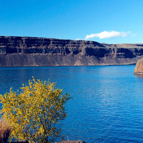 Canyons on the water by Shawn Vanlith - Landscapes Waterscapes ( desert, photo shoot, lake, canyons )