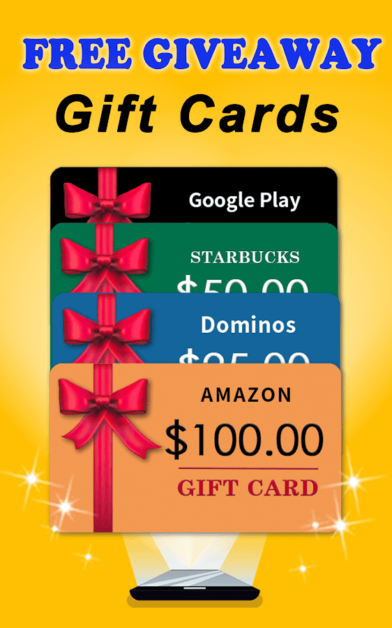 100% real)Free Giveaway:Free Gift Cards/Gifts App- screenshot