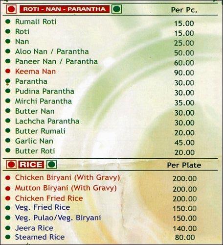 Om Hotel menu 3