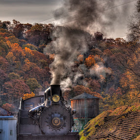CASS Scenic Railway in West Virginia by Rick Lombardo - Transportation Trains