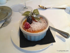 Photo: Carly-Anne's dessert - Creme Brulee