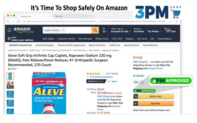 3PM Shop - Shop safely on Amazon