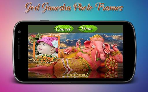 God Ganesha Photo Frames