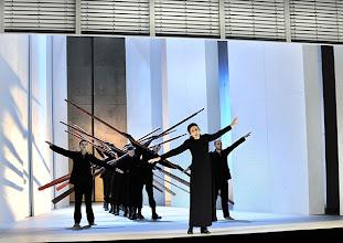 Photo: Theater an der Wien: IPHIGENIE EN AULIDE ET TAURIDE. Inszenierung: Torsten Fischer. Premiere 16.10.2014.  Veronique Gens. Foto: Barbara Zeininger