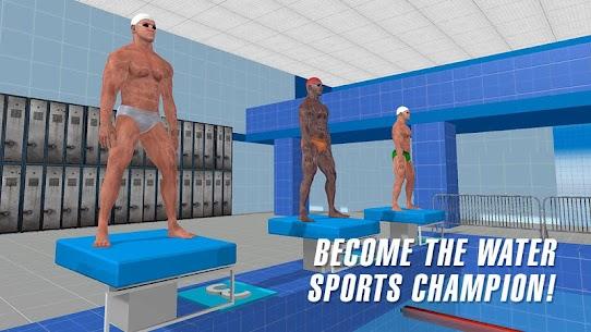 حمام سباحة سباق 6