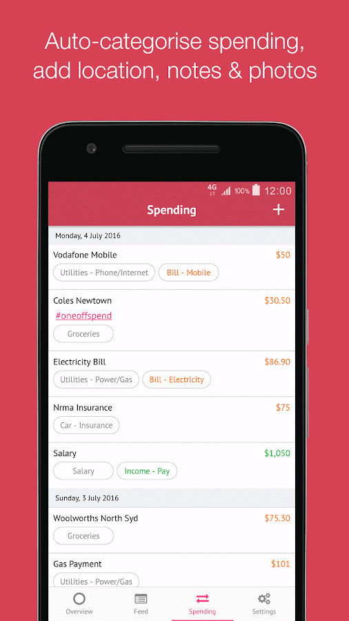 Pocketbook Easy Budget Planner- screenshot