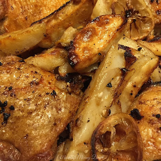 Easy Greek Chicken and Potatoes Recipe