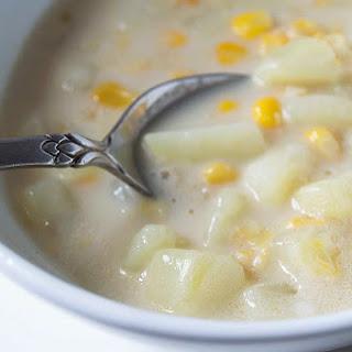 Vegan Corn Chowder.