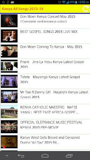 Kenya All Songs 2015