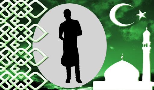 イスラム教徒のフォトフレーム
