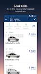screenshot of MakeMyTrip-Flight Hotel Bus Cab IRCTC Rail Booking