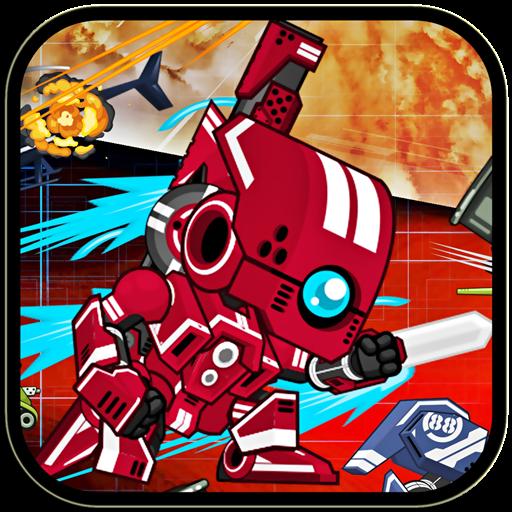 机器人战争x格斗游戏3 街機 LOGO-玩APPs