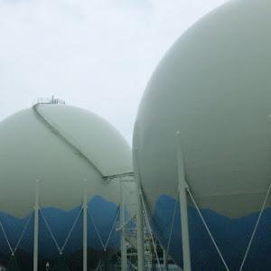 大阪ガス 大阪導管部 岩崎供給所 ガスタンク