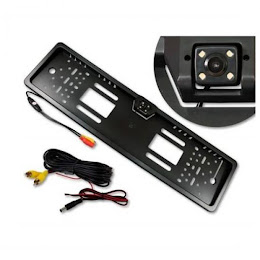 Suport pentru numarul de inmatriculare cu camera video marsarier