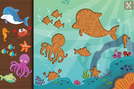 Animal Jigsaw Puzzle Toddlers 3.5 screenshots 4