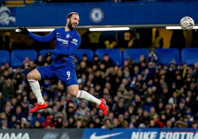 Chelsea confirme le départ de Gonzalo Higuain