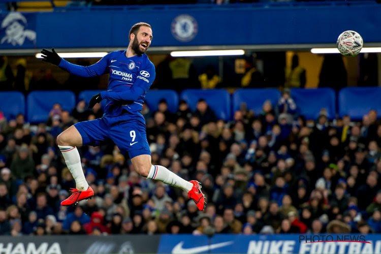 Chelsea kan het ook zonder Hazard in de FA Cup, Higuaín nog niet trefzeker voor de Blues