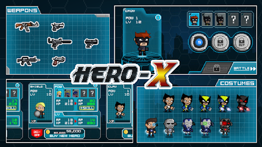 HERO-X v1.0.7 (Mod Money)