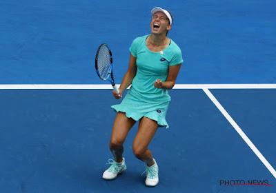 Elise Mertens stoot door naar de halve finale op de Australian Open!
